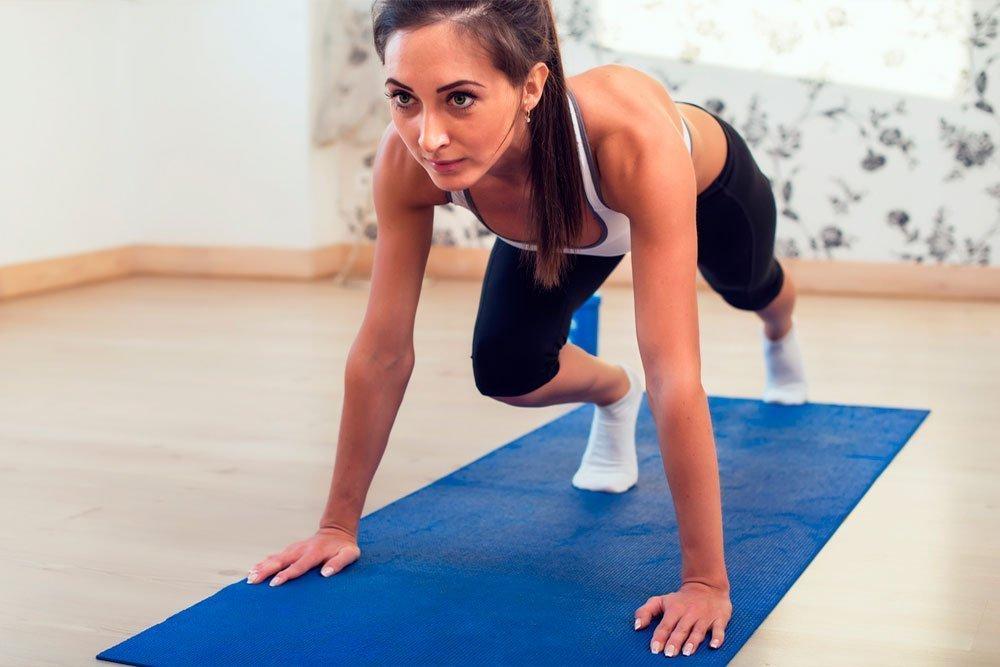 Упражнения для похудения бедер, ягодиц и ног