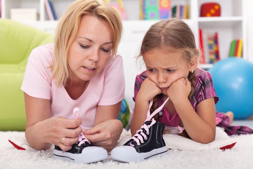Не делать за ребенка то, что он может сделать сам