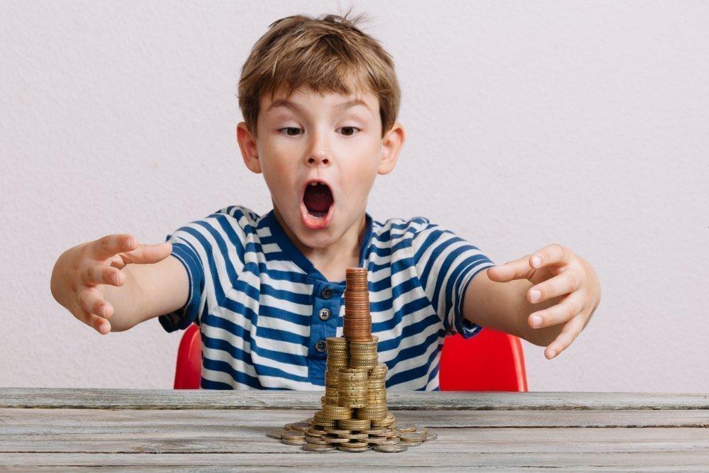 Выросли детки — в глазах одни монетки