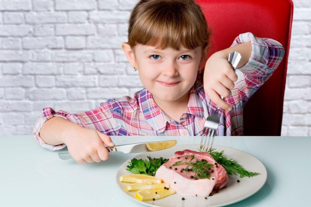 Количество белка в детском питании
