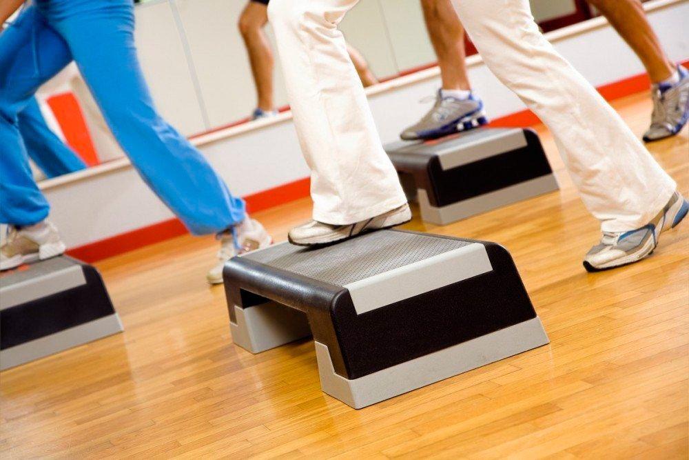 Виды фитнес-тренировок со степом