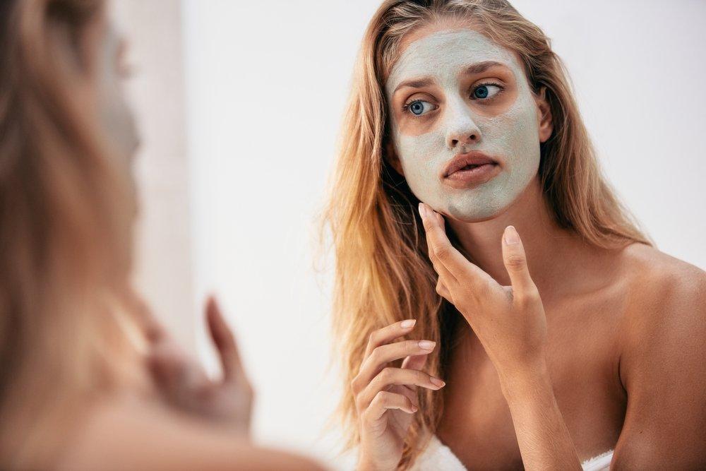 Экспресс-маска для лица из косметической глины