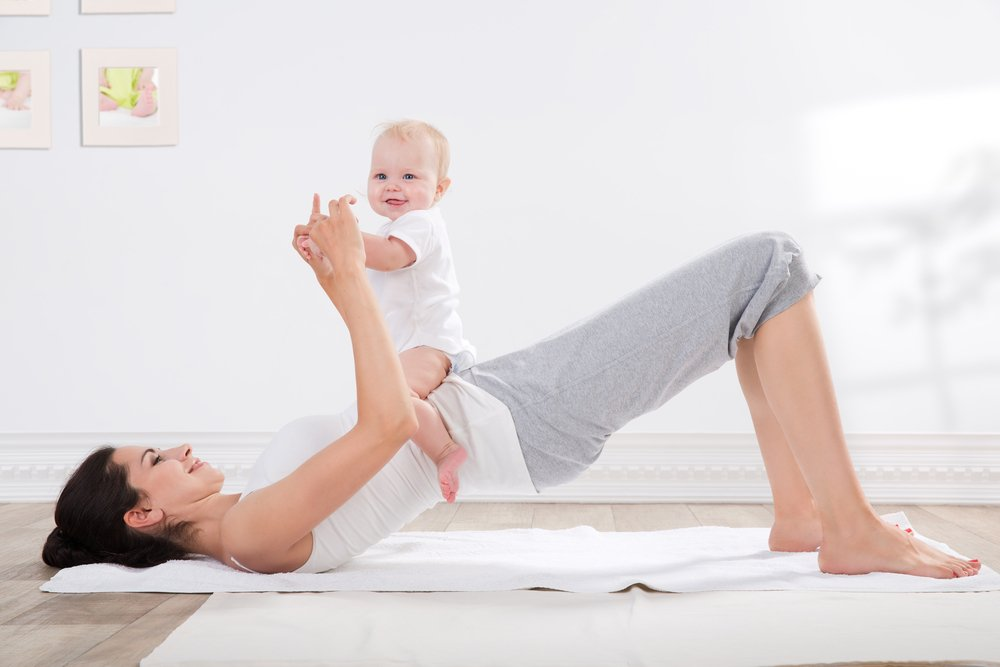Комплекс упражнений для занятий с ребенком