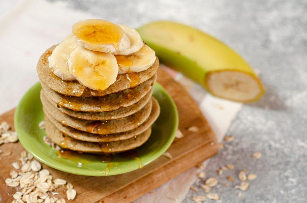 Классический рецепт оладий из бананов
