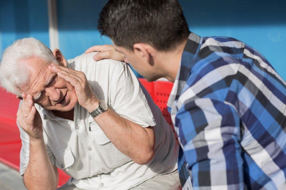Головокружение у пожилых людей первая помощь
