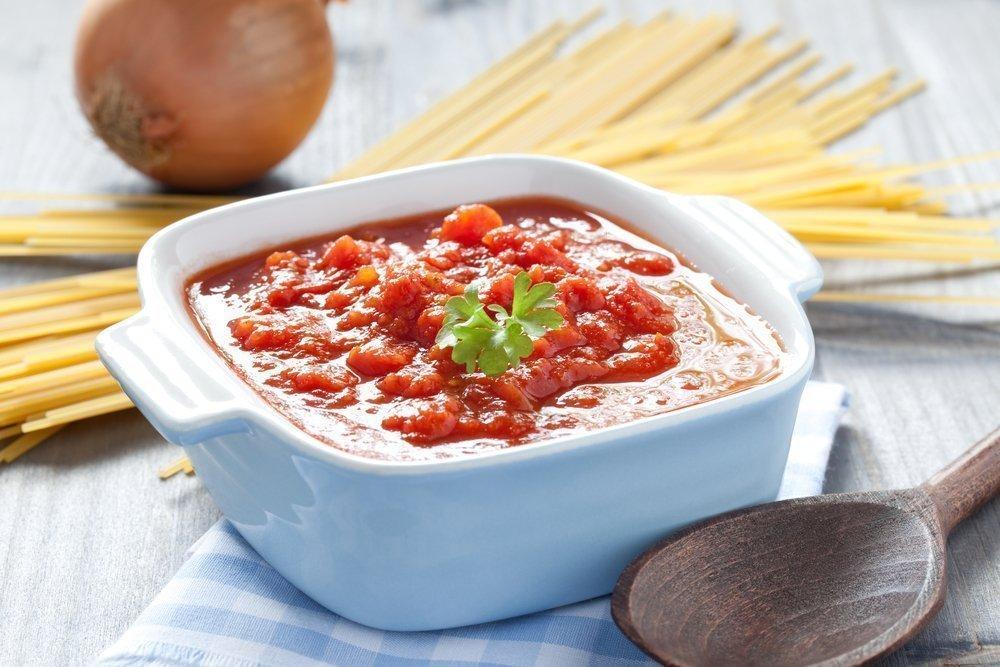Вкусный простой соус к макаронам с фото