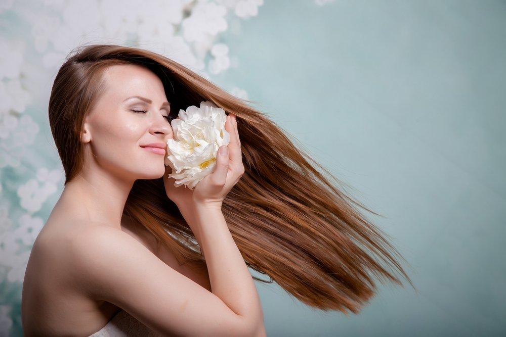 Цветы для красивых укладок волос