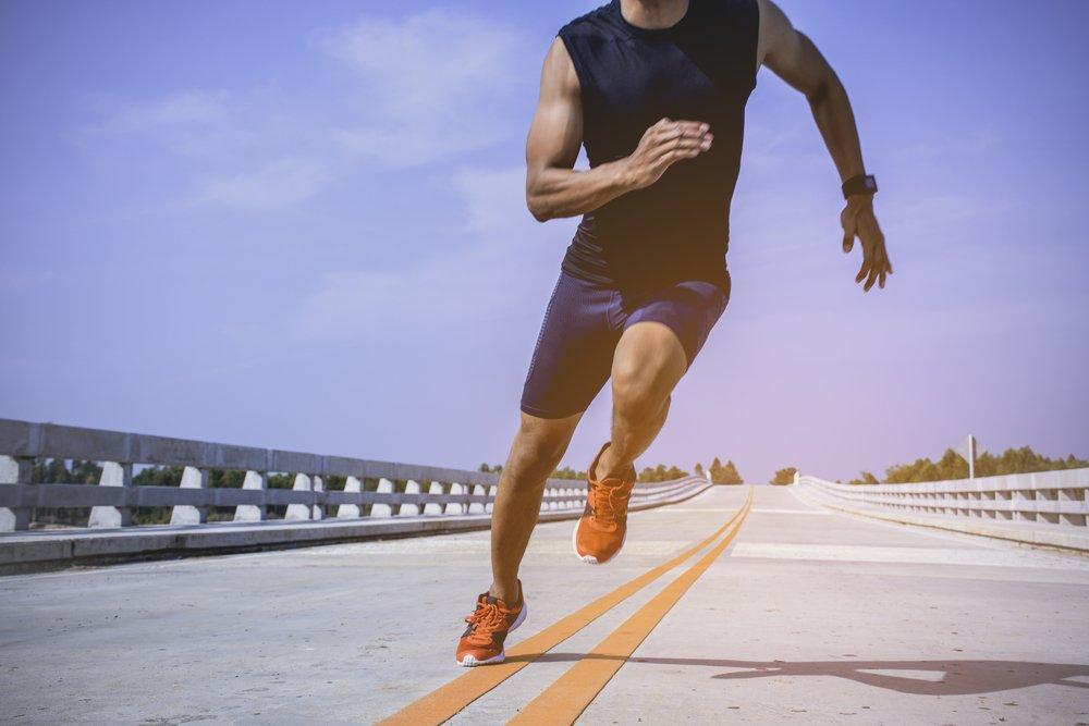 Бег для похудения мужчине