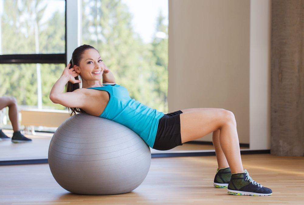 занятия для похудения на фитболе отзывы
