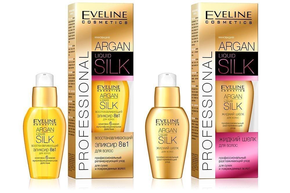 Серия средств для волос Liquid silk, Eveline Cosmetics