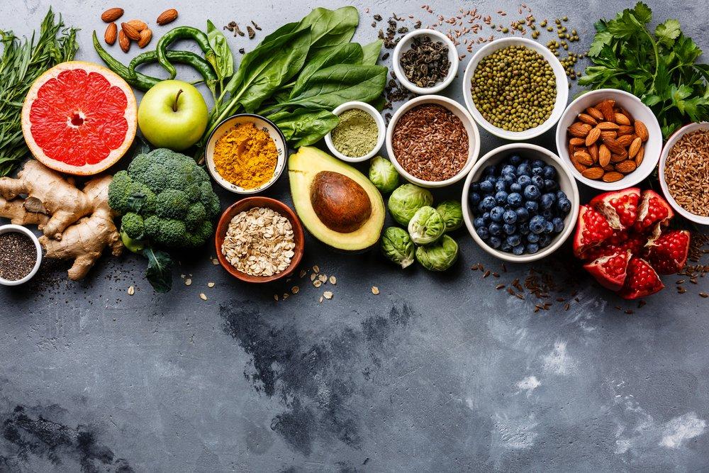 Свежие фрукты и овощи — на пользу телу!
