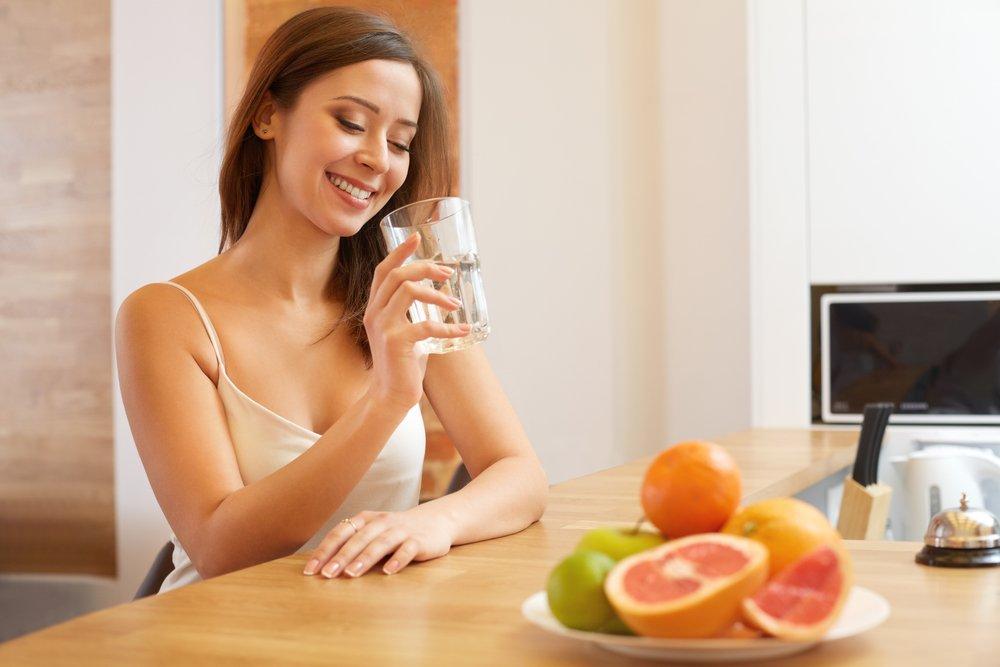 как очистить организм во время диеты