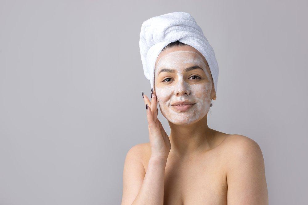 Очищающая дрожжевая маска для лица