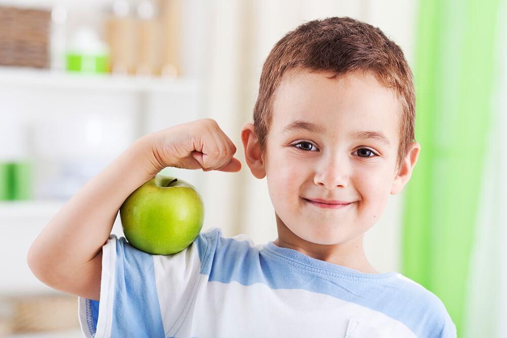 Откуда ребенок может получить витамины