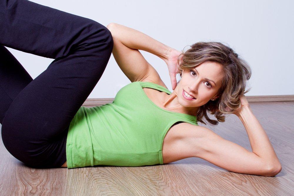 Фитнес-упражнения для «кубиков»