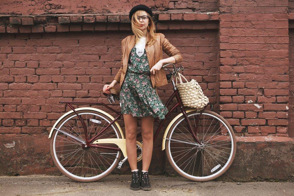 Садитесь на велосипед