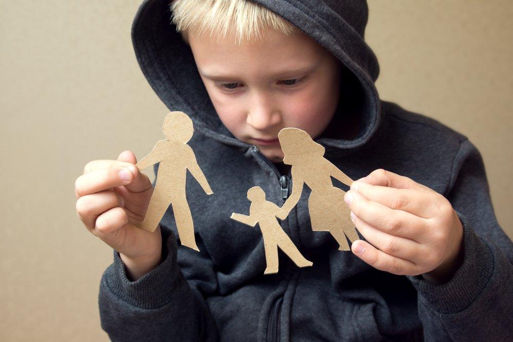 Развод и неполная семья в жизни ребенка