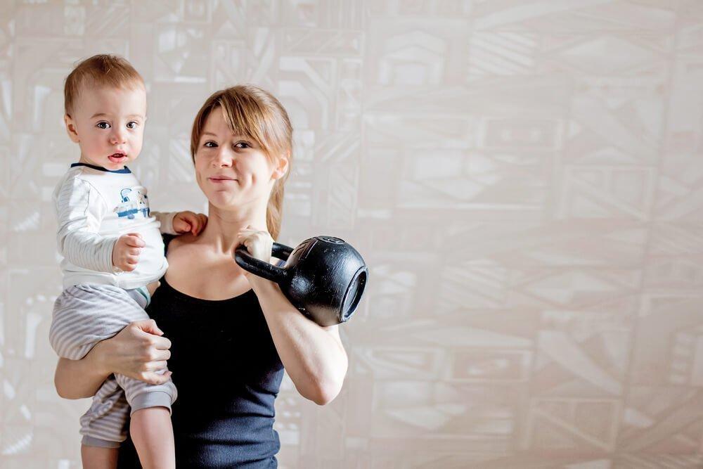 Как найти время для физических упражнений домохозяйке