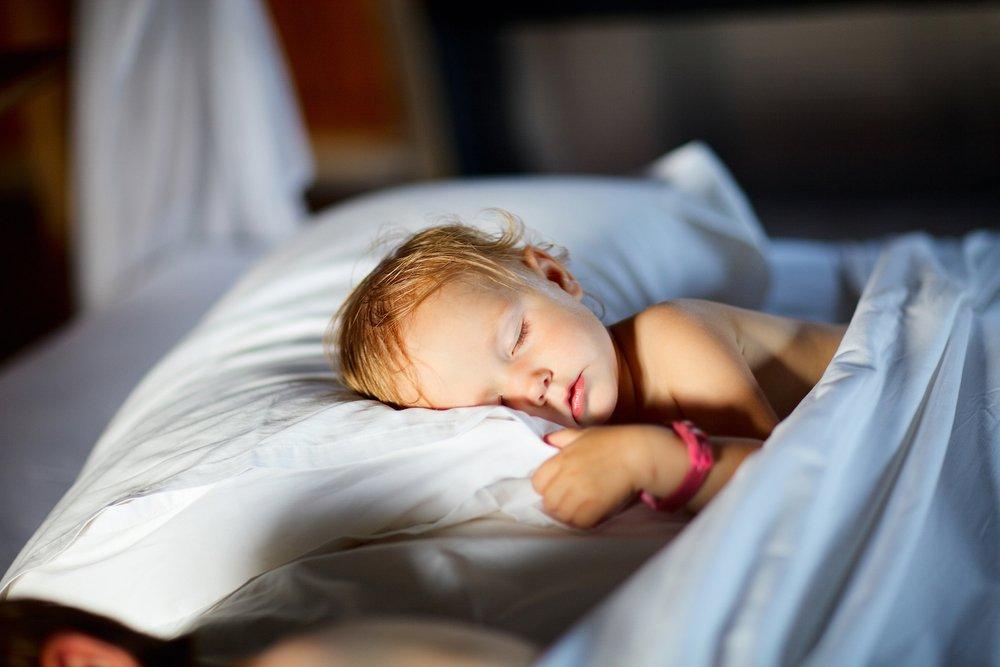 Активные занятия для детей как профилактика ночных страхов