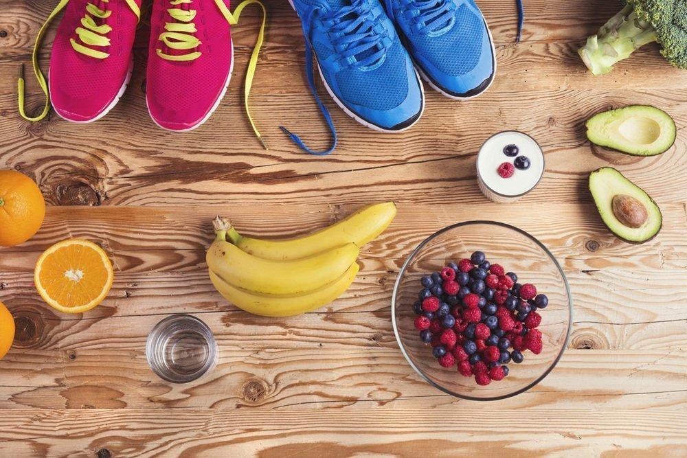 Фрукты диета спортивная