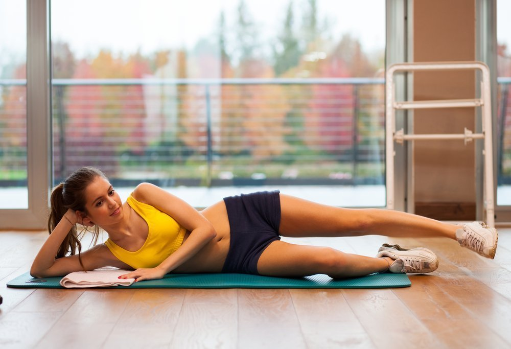 Выбор упражнений на период менструации