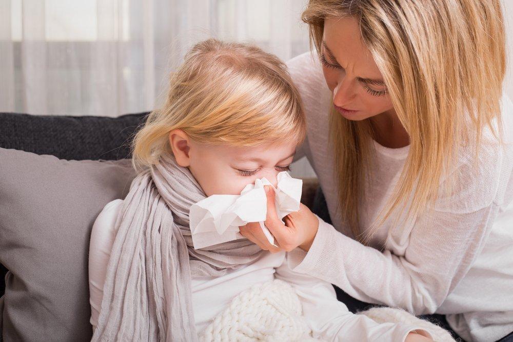 Здоровье детей и насморк