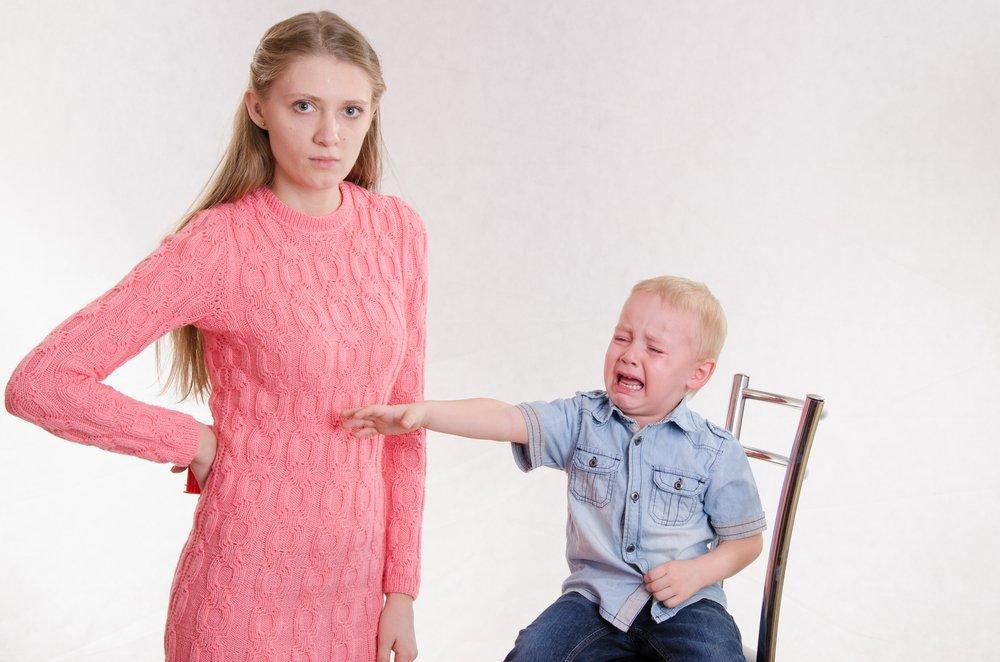 Третья ошибка: выполнение требований детей