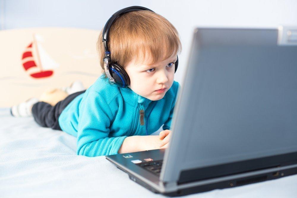 Картинки детей которые играют в компьютер