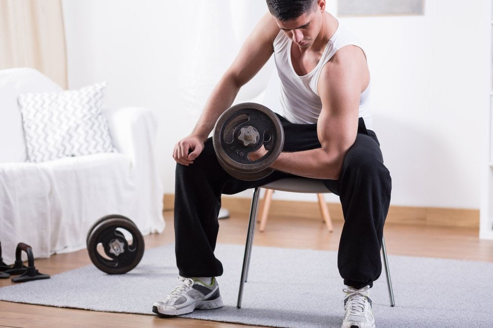 Силовой фитнес для увеличения мышечной массы
