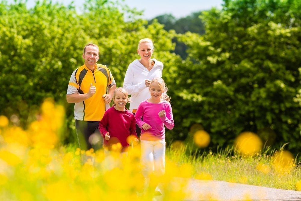 Развитие детей в спортивной семье