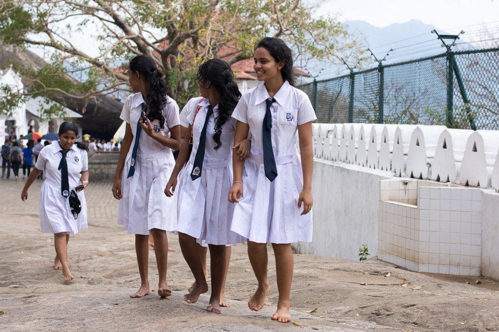 Вьетнам и Шри-Ланка: торжество белого цвета