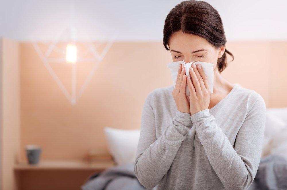 Симптомы, характерные для риновирусной инфекции