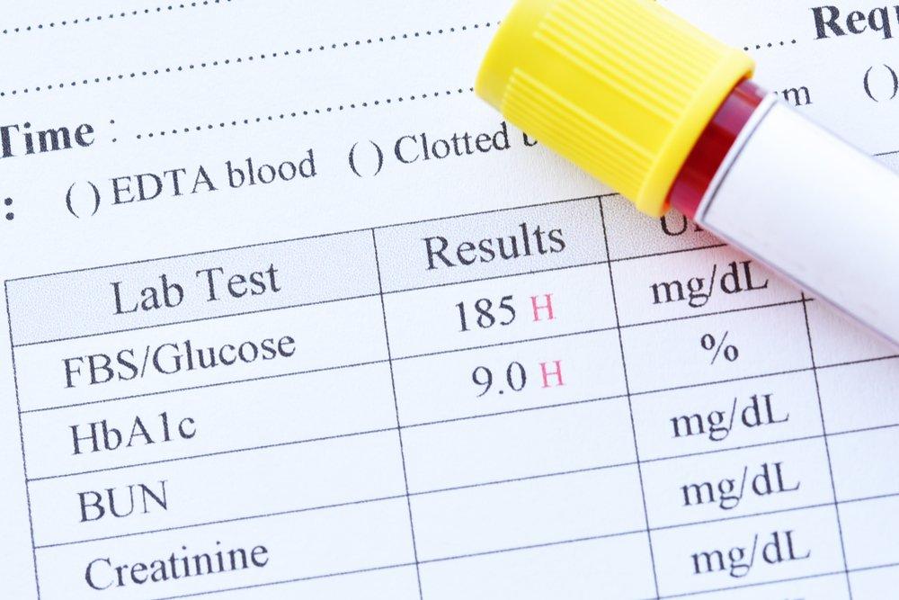 Здоровье диабетика: результаты анализов
