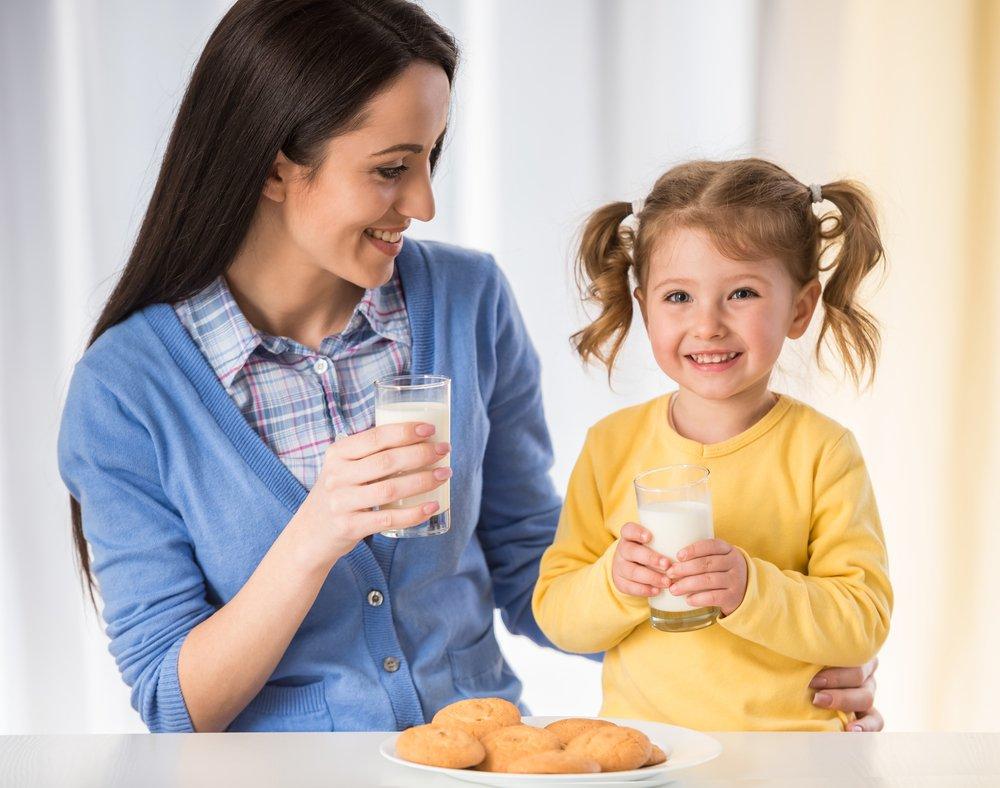Питание ребенка невозможно без молока