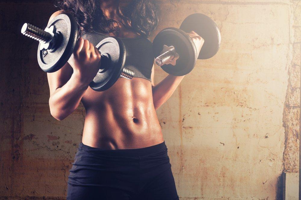 Упражнения для сушки тела