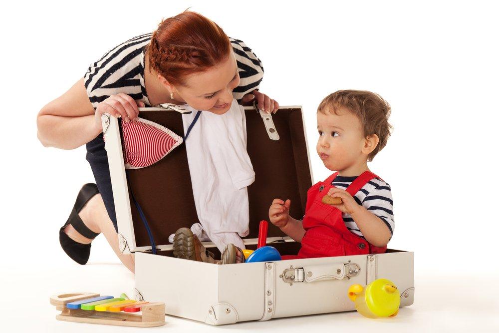 Гардероб для мамы, папы и детей