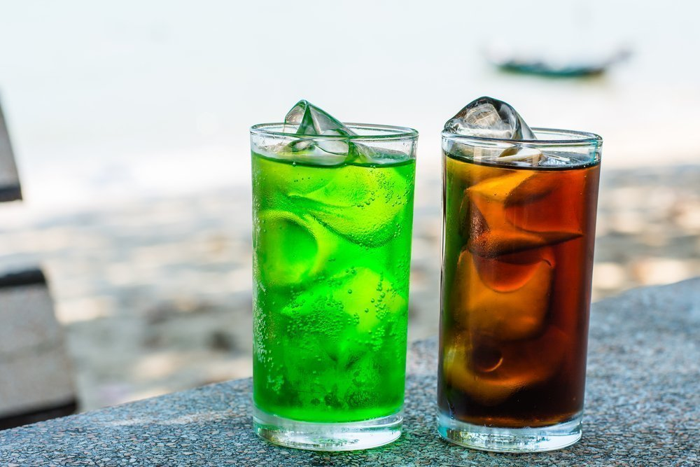 Осторожно: газированные напитки