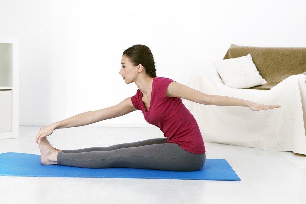 Примерный комплекс упражнений для домашних занятий
