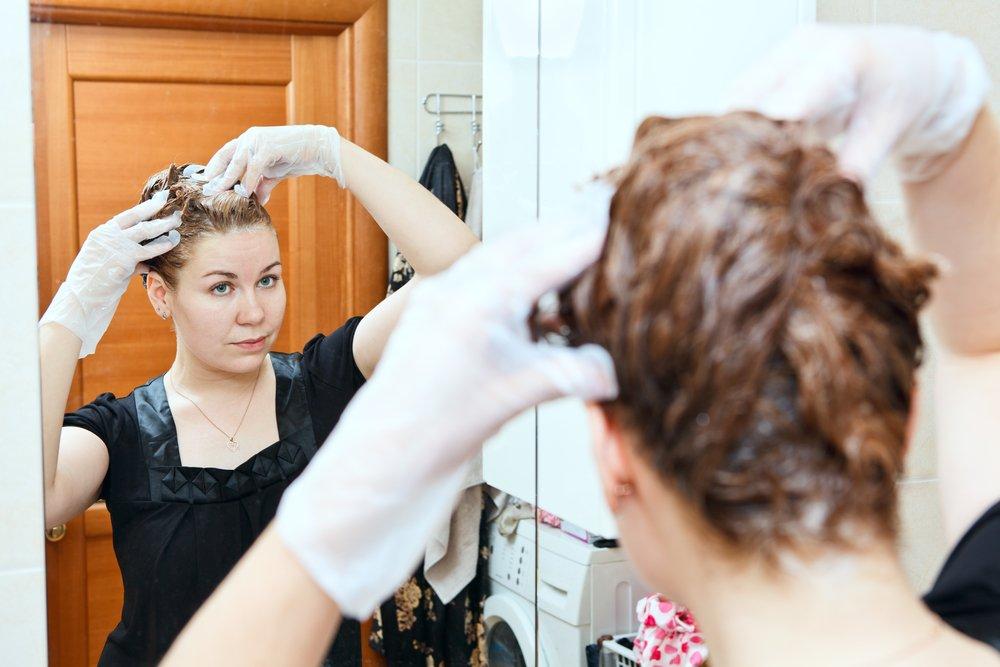 Держите краску на волосах строго указанное время