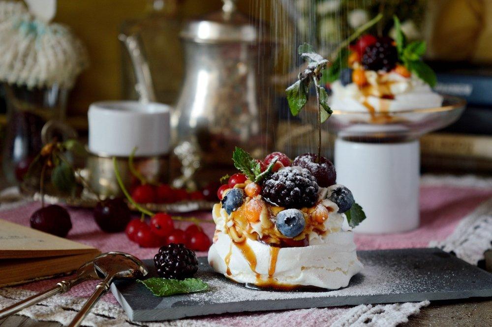 Классический рецепт приготовления десерта «Павлова»