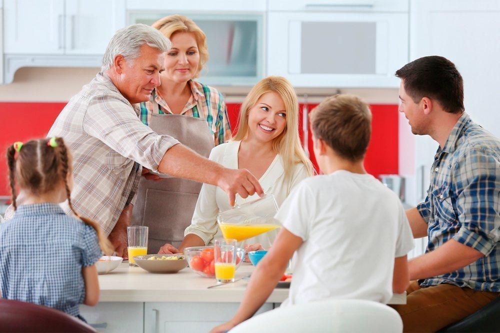 Поведение родителей должно стать примером