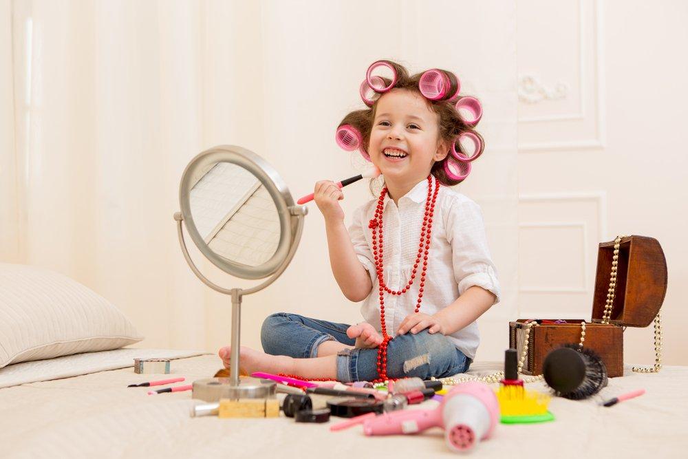 Интерес детей к косметике