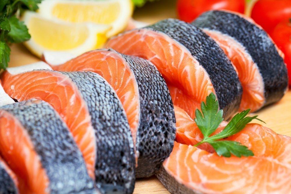 Правильное похудение с красной рыбой