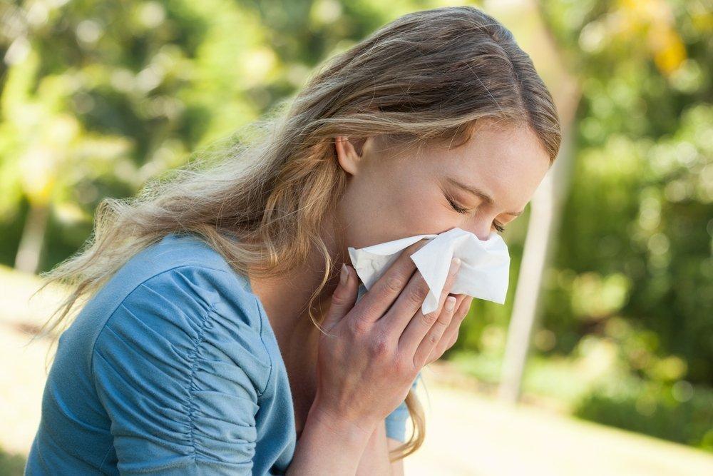 Аллергия у женщин