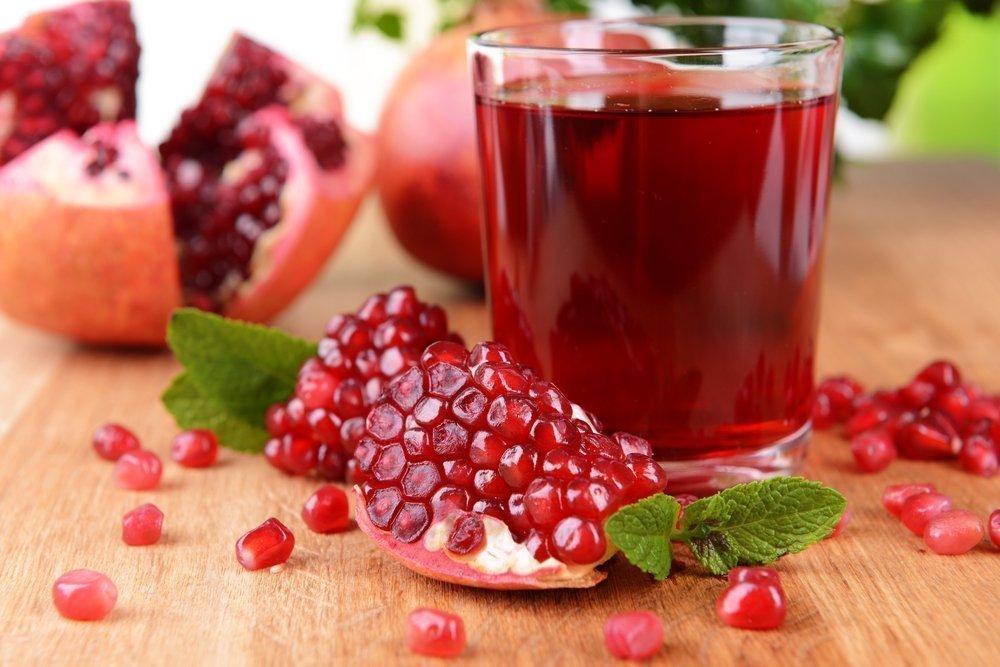 Сочное похудение на гранатовом напитке