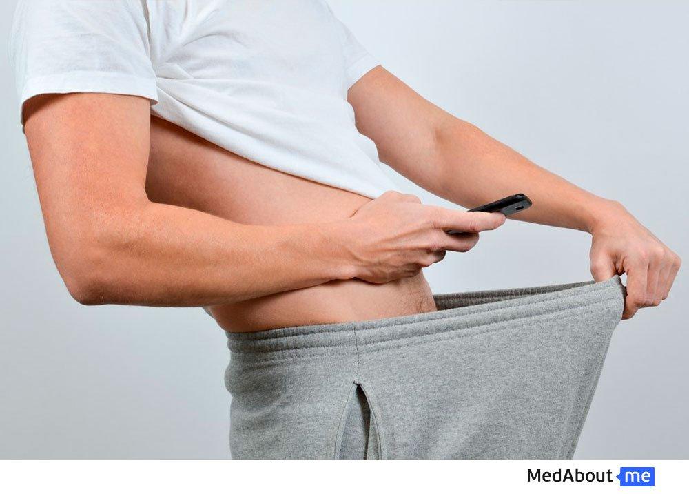 Симптомы фимоза у мужчин
