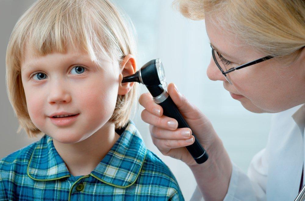 Заложенность уха у детей