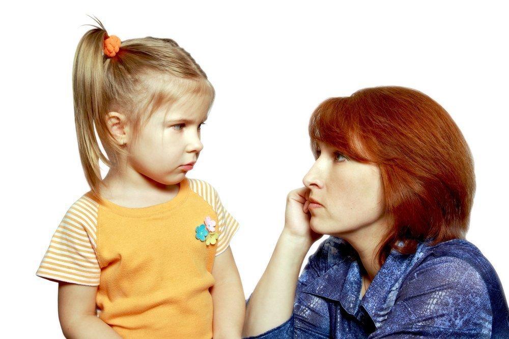 Мать и дочь: не делитесь с крохой своими обидами!