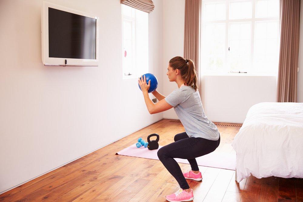 Фитнес для похудения в домашних условиях: основные преимущества