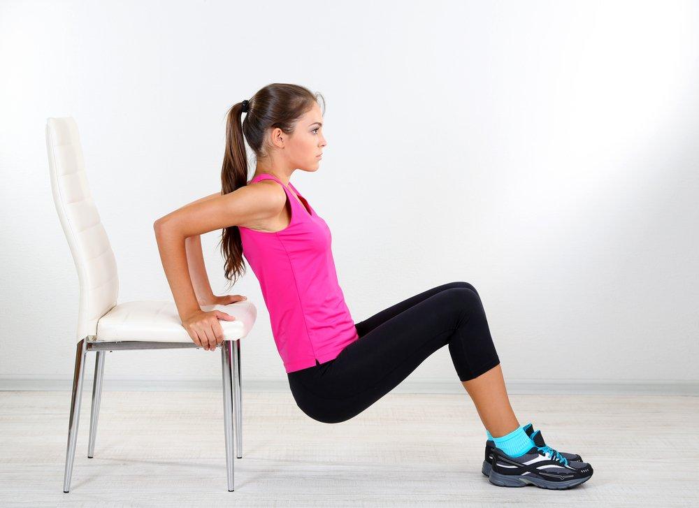 Фитнес-тренировки по укреплению мышц пресса, спины и груди